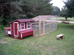 Chicken Coop Kit Sloped Roof Chicken Run With Easy Access Use With Most Hen Houses
