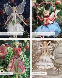 Gisela Graham Easter Decorations 2016 by Gisela Graham Christmas Rose Ballerina Fairy In Ring Decoration C