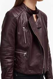 biker coat tobey leather biker jacket collections french connection