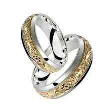 his and hers wedding rings cheap wedding ideas fabulous silver and gold wedding rings picture