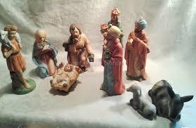 home interiors nativity homco nativity home interiors 9 set porcelain vintage