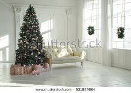 Christmas Livingroom by Christmas Living Room Stock Images Royalty Free Images U0026 Vectors