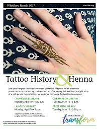 tattoo history u0026 henna