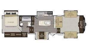 100 bighorn rv floor plans 100 bighorn 5th wheel floor
