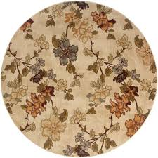 Yellow Round Area Rugs Floors U0026 Rugs Cream Round Area Rugs For Modern Flooring Interior