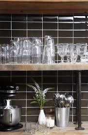 Glass Kitchen Backsplash Pictures Enchanting Brown Glass Subway Tile Backsplash Images Decoration
