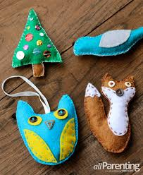 felt ornaments how to make felt ornaments