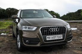 audi q3 tdi price 2013 audi q3 2 0 tdi car review indian cars bikes