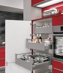 aufbewahrungsschrank küche moderne einbauküche norina 3648 rot hochglanz küchen quelle