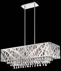 chandelier modern rectangular chandelier rectangular candle
