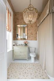 bathroom remodels for beginner 23751 bathroom ideas traditional bathroom remodel to classic luxury style with wallpaper and curtain also crystal chandelier lighting