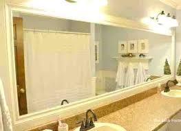 Large Bathroom Mirrors For Sale Large Bathroom Mirror 7 Large Framed Bathroom Mirror Gallery For
