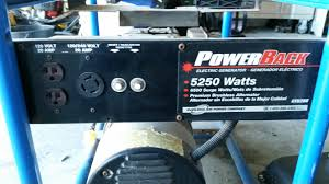 solved i just bought power back gt5250 1 generator same fixya