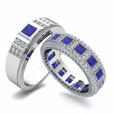 wedding bands for him and build princess cut wedding ring band for him and diamond gemstone