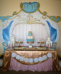 cinderella sweet 16 theme kara s party ideas dessert table from a princess cinderella themed
