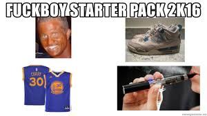 Meme Generator Starter Pack - fuckboy starter pack 2k16 fuck boy starter pack meme generator