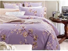 purple floral bedding beddinginn com