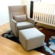 Rocking Chair Glider For Nursery Rocking Chair Glider Nursery Swivel Glider With Ottoman Sears