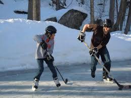 Best Backyard Hockey Rinks The Best Backyard Ice Rink In Connecticut Is On Beech Tree Lane