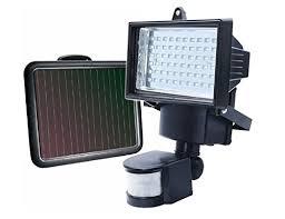 long range motion detector light guardian solar 80led pir motion sensor security light floodlight for