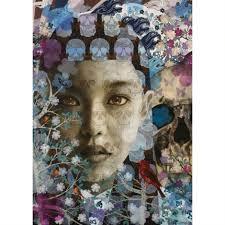 skulls butterflies by andres barrioquinto on artnet