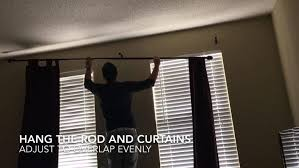 Curtains Over Blinds Install Curtain Over Blinds Particular Asulka Com