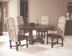 a 60 inch round dining table from the casalone collection by
