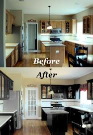 painted black kitchen cabinets painted black kitchen cabinets before and after 5hce0dlsr jpg 351