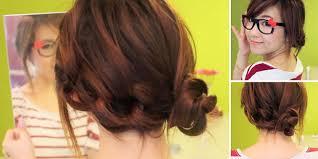 tutorial rambut wanita tutorial rambut model rantai praktis dan cute vemale com