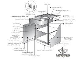 Dimensions Of Kitchen Cabinets Architektur Kitchen Cabinets Specifications Base Cabinet