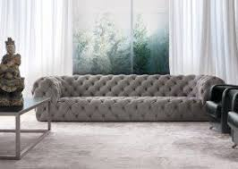 Leather White Sofa Tufted White Leather Sofa Foter