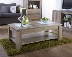 MODERN WOOD CANYON OAK COFFEE TABLE LIVING ROOM FURNITURE SHELF - Oak living room sets