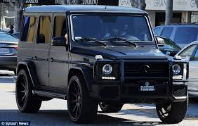 kris jenner mercedes suv black g wagon my car black