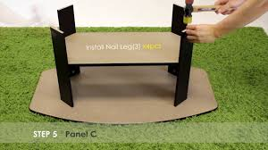 Furinno Laptop Desk by How To Assemble Furinno 11179 U0026 11180 Coffee Table End Table Youtube