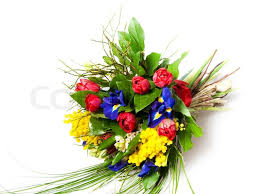 beautiful bouquet of flowers beautiful bouquet of flowers isolated on white stock photo