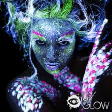 Black Light Body Paint Uv Glow Blacklight Face And Body Paint Internet Vs Wallet