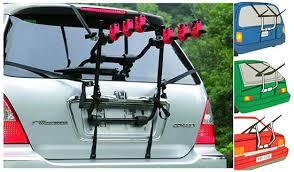 porta bici x auto portabici posteriore da auto per trasporto di max 3 bici mod