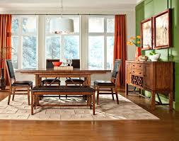 living room furniture ta intercon dining room santa clara trestle dining table st ta 3884 bdy