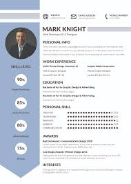 Resume and Recommendations VisualCV