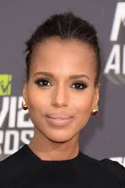 kerry washington hair pin up hello world let me show you how a nude lip is done says kerry