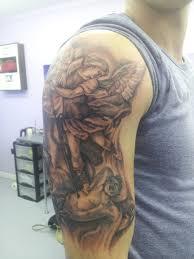 100 archangel michael tattoos 35 best warrior angel michael