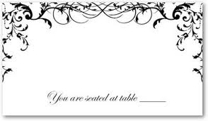 wedding place cards template wedding place cards template