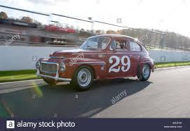 classic volvo sedan 1959 volvo pv544 classic race car stock photo royalty free image