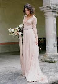 blush wedding dress with sleeves blush wedding dress with sleeves wedding corners