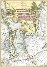 Map St Petersburg Florida by Progressive Marine Directions