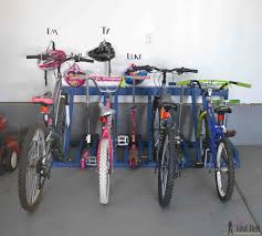 bikes garage bike storage ideas diy single bike floor stand diy