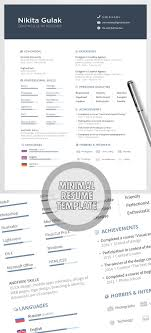reference resume minimalist background cing 15 free psd cv resume and cover letter templates freebies