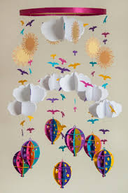 paper craft ideas baby mobiles ideas crafts