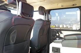 G Wagon 6x6 Interior Two 6 Wheeler Mercedes Benz G63 Amg Trucks Headed For The Middle