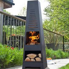 Patio Gas Heaters by Skyline Chiminea Patio Heater And Log Store By Oxford Barbecues